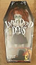 "Mezco Living Dead Horror Dolls 'Jubilee' 10"" with Hat, Certificate & Coffin Box"