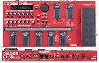 BOSS GT-6B BASS GUITAR MULTI EFFECTS PEDAL PROCESSOR & POWER SUPPLY ME 20B 50B