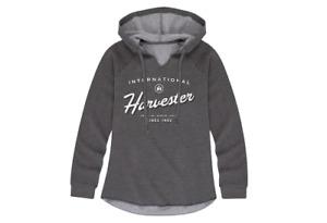 International Harvester American Farmers Ladies Lightweight Hooded Pullover