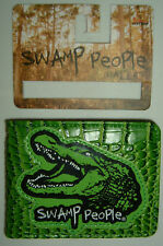 Swamp People Dats A Treeshaka TV Show Alligator Licensed Bifold Wallet Nwt