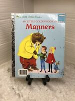 My Little Golden Book of Manners 1962 illustrated by Richard Scarry