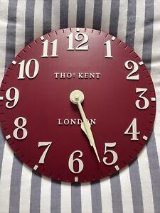 Thomas Kent Wall Clock Red