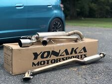 Yonaka Exhaust for 09-13 Honda Fit GE8