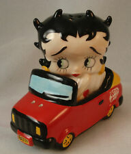 Betty Boop Convertible Car Ceramic Salt Pepper Shaker Set S&P Figurine #37863