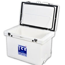 TECHNIICE 120L Classic Ice Box White + 6x Techni Ice Reusable Ice Packs