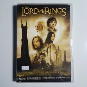 Lord of the Rings: The Two Towers   DVD Movie   2002   Fantasy/Adventure   Used