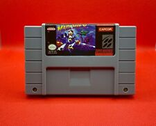Mega Man X SNES 16-Bit Game Cartridge English USA