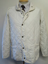"Barbour A105 Polar Quilted jacket M 40"" Euro 50 in Cream"