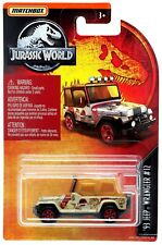 Jurassic World Matchbox '93 Jeep Wranger #12 Diecast Vehicle