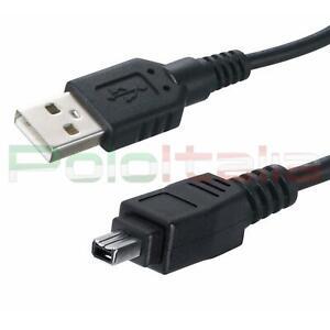 Cavo 5m USB FIREWIRE per video camera foto camera digitale Sony Jvc Nikon Canon