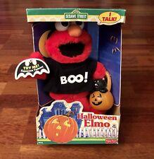 Vintage 1997 Sesame Street Animated Halloween Elmo Jim Henson Fisher Price
