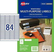 Avery L7656rev Laser Label 35mm Slide 84/Page Pk-25  959053