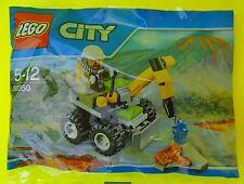 Lego City 30350 Vulcano Jackhammer Bohrhammer Fahrzeug Polybag Neu Ovp