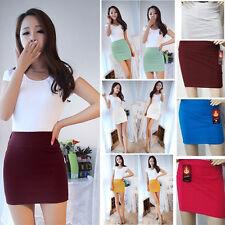 Small Fashion Womens Ladies Slim Fit High Waist Bodycon Mini Work Office Skirt