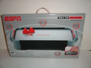 """TABLE TOP AIR HOCKEY GAME 20"""" BY ESPN-BRAND NEW IN BOX"""