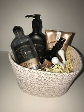 BATH & BODY WORKS Black Chamomile Wash/Scrub/Lotion/Pillow Mist/Massager Basket