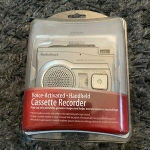 NEW Radio Shack CTR-122  Voice-Activated Handheld Cassette Recorder NIB