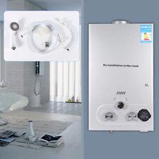 8L Durchlauferhitzer Warmwasserbereiter Boiler Naturalgas Gas Water Heater DHL