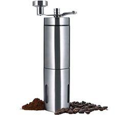 Manual Coffee Grinder, SURPEER Stainless Steel Portable Coffee Mill - Adjustable