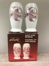 ANATOLE FINE PORCELAIN CHINA JAPAN Salt And Pepper Shakers Unused NOS