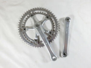 Nice ~ Vintage Gipiemme Crono Sprint cranks crankset ~ 170mm ~ 52/42