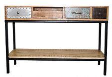 Vintage Retro Scandinavian Industrial Console Hallstand Sofa/ Entry Table Desk
