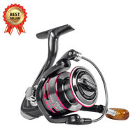 12BB METAL SPOOL SPINNING FISHING REEL WHEEL SEA TACKLE HB500 - HB7000 UK