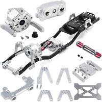 313mm Radstand Fahrgestellrahmen Präfix-Getriebe für 1/10 AXIAL RC Auto Crawler