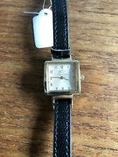 Ladies STELTMAN Square Shaped Gold Coloured Watch  W791/4