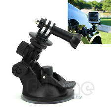 """Camera Car Suction Cup +1/4"""" Tripod Mount Adapter+Screw For GoPro HD Hero 2 3 3+"""