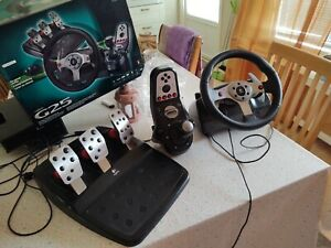 logitech g25 complete with original box and steering wheel