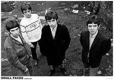 Poster SMALL FACES - Group Looking Up - London 1965 ca85x60cm  NEU 15197