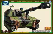 Riich RT72002 1/72 M109A2 155mm Self-Propelled Howitzer