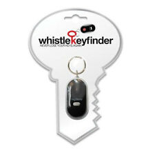 Whistle Key Finder Keyring Key Chain Never Loose Your Keys LED Torch Function