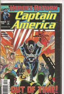 °CAPTAIN AMERICA Vol 3 #3 MUSEUM PIECE°US Marvel 1998 Mark Waid
