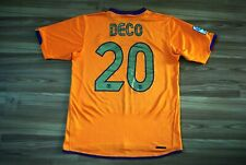 SIZE MEDIUM BARCELONA FC AWAY FOOTBALL SHIRT JERSEY 2006-2007 NIKE #20 DECO RARE