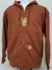 Carhartt Rain Defender Thermal Lined Rutland Hooded Zip Sweatshirt. Men's 2XLT