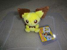 Pokemon Center Pichu Canvas Plush Toy Stuffed 2010 Japanese NWT