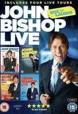John Bishop Live - Box of Laughs (4 live tours) - 2 DVD box set *Free Delivery*