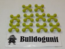 2004 Cranium Cadoo Board Game Replacement All 10 Green Token Parts Only