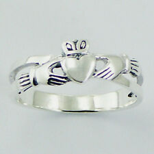 Silver Claddagh Ring Sterling Silver 925 Best Deal Plain Jewelry Gift Size 9
