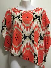 Vince Camuto Twisted Safari Top  Size PXS