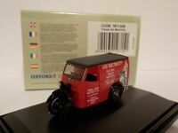 Tricycle Van - Electricity, Oxford Diecast 1/76 New