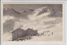 AK Hirschegg, Kleinwalsertal, Schwarzwasserhütte 1940 Foto-AK