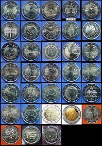 2 Euros Gedenkmünzen - ALLE LäNDER VERFÜGBAR - Jahr 2016 - UNCIRCULATED