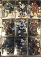 1995-96 SELECT CERTIFIED COMPLETE HOCKEY SET (145) PACK PULLED