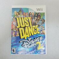 Just Dance: Disney Party 2 (Nintendo Wii, 2015)  Fast Shipping