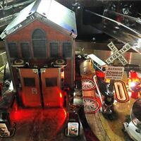 Railroad Crossing MOD for Stern's The Walking Dead pinball machine, 4 variations
