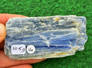 Kyanite Blue Crystal Rare Display Mineral Cleansing Throat Chakra 8cm 106g #14