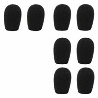 20mm Headset & Lapel Lavalier Microphone Windscreens - 8 Pack